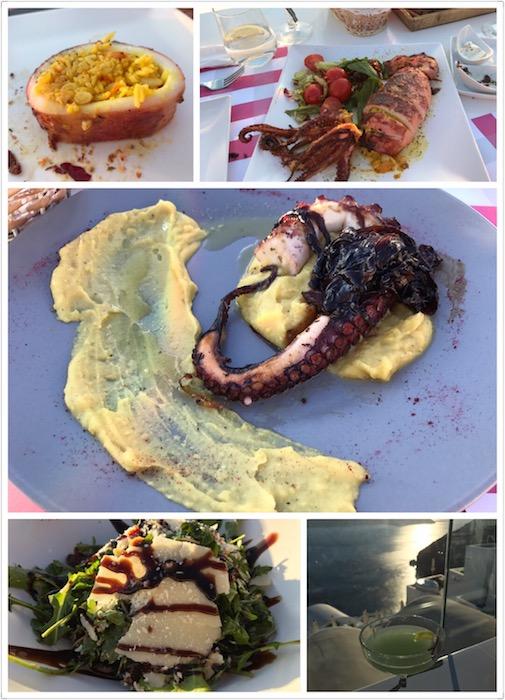 Beautiful presentation of local cuisine at Onar restaurant
