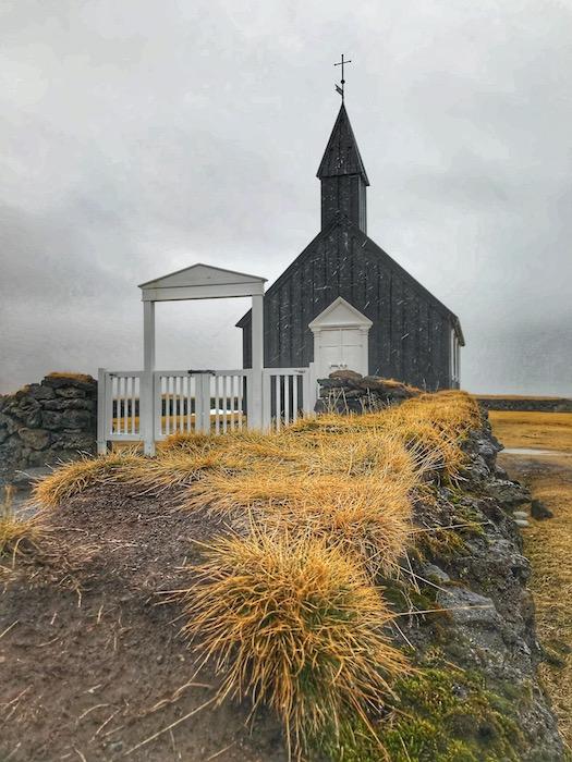 Buðir black church, Iceland